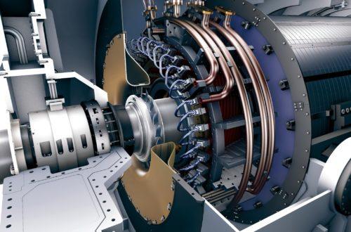Motores de hidrógeno y turbinas